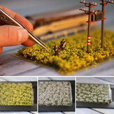 Grappoli artificiali Mini Scenery Flower Modello in miniatura Scala Train Landscape Decorations