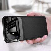 Voor Samsung Galaxy S20 + / Galaxy S20 Plus Bakeey Luxe zakelijk PU lederen spiegelglas schokbestendig beschermhoes