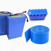 5Pcs 2M 150mm PVC Guaina termorestringente Tubo termoretraibile 18650 Batteria Guaina termorestringente Tubo isolante strizzacervelli di calore