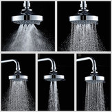 Douchekop Hoge druk 4 Inch 5-standen Regelbare douchekop Top Spray-functie Multifunctioneel Waterbesparend Top douchekop