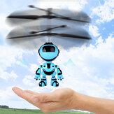 Мини Светодиодный Up Инфракрасный Индукции Дрон Аккумуляторная Летающий Единорог Игрушка с Ручным управлением Игрушки для Детей Подарок