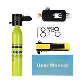 0.5L Набор для Подводного Дайвинга Подводный Акваланг Бак для Подводного Дыхания с Хранением Сумка для Плавания Водный Спорт