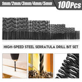 Set di punte elicoidali in acciaio ad alta velocità 1-5 pz 1-5 mm