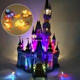 DIY Zestaw oświetleniowy LED TYLKO dla LEGO 71040 Zamkowe zabawki z klocków Zaktualizowano / Zwykłe