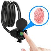 Voor FLIDO D4S BIKIGHT Intelligente Bluetooth-vingerafdrukslot Fiets Anti-diefstal IP65 Waterdicht slot voor elektrische fiets
