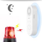 Bakeey IR Sensor Benutzerdefinierte Aufzeichnung Klingeln Dual Vibration Mode Sicherheitsalarmsystem Warngerät für Smart Home