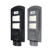 90W LED Solar Powered Wall Street Light PIR Motion Outdoor Garden Lamp