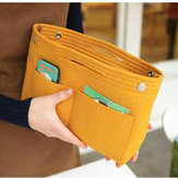 Travel Casual Bag in Bag Felt Multi-pockets Cosmetic Bag Storage Bag
