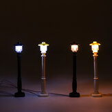 Universal DIY LED Light Lamp Post Lantern For Lego Street Building Shop Model
