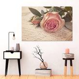 Modern PINK Rose Nordic Flowers Печать на холсте Картины с принтом Декор для стен Без рамы