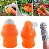 Drillpro الإبهام القاطع الإصبع كتر جهاز القطع لقطع أدوات الخضروات كتر الخضروات الزراعية الفلفل العنب