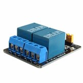 5pcs 5V 2 Channel Relay Module Control Board With Optocoupler Protection