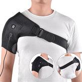 Ceinturedesoutienajustableauxépaules et au dos à la thérapie de chaleur électrique
