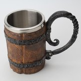 650ml Gothic Pirate Mug Nhựa Retro Bar Whisky Cup Lễ hội Cup