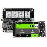 TMC2209搭載のLerdge-X ARM32メインボード3.5インチLCDタッチスクリーンコントロールボードDIYキット、3Dプリンター用