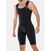 Heren Rompers Bodybuilding Butt Lifting Body Control Shapewear