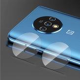 Bakeey 2 PCS Anti-scratch HD Protetor de lente de câmera de telefone de vidro temperado transparente para OnePlus 7T