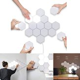 Applique murale LED Quantum Hexagonal Modular Touch Sensor Luminaire Salon Décoratif Smart Light