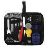 147Pcs Watch Repair Tools Kit Horloger Back Case Opener Spring Pin Bars Remover