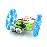 صانع حقيقي DIY STEAM ذكي الذاتي موازنة RC روبوت سيارة لعبة تعليمية كيت