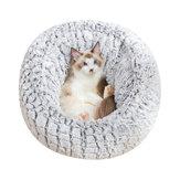 Pet Кот Кровать Супер Soft Теплый Круглый Супер Милый Собака Питомник Гнездо