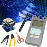 TK16 Kit de ferramentas de fibra óptica FTTH Medidor de energia FC-6S Localizador de localizadores de cutelo de fibra
