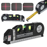 Multipurpose Laser Level Vertical Cross Measuring Tape Aligner Metric Ruler