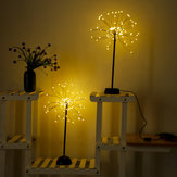 100 LEDタンポポランプUSB花火ナイトライトガーデンウェディングパーティークリスマス