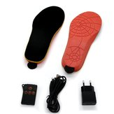 Electric Heated Shoe Insoles Rechargeable 35-40 Code Cuttable Heating Shoes Pad Inslole Winter Warmer