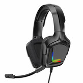 ONIKUMA K20 RGB LED Light Gaming Headphone Stereo Noise Reduction Wired Earphone With Mic for PS4 Xbox One