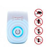 Ultradźwiękowy elektroniczny szkodnik Odstraszacz owadów Przeciwko mysim Karaluch Komary Gryzonie Zabójca