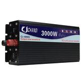 Inversor Senoidal Puro Solar Inteligente DC 12V / 24V para AC 220V 60Hz 3000W / 4000W / 5000W / 6000W Conversor de energia
