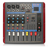 ELM SMR503-USB bluetooth 4ch 48V Phantom Power Audio Mixer Mixing Console for KTV Karaoke Stage