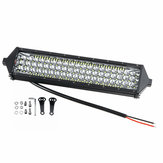 10V-30V 402W 134 LED 10 Inch Tri-Row LED Work Lights Bar Spot Beam For Offroad Truck Boat 6000K Waterproof IP67