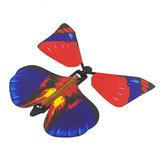 1PC Magia Puntelli Flying Butterfly Trasformazione a mano Giocattoli per bambini Natale Schicky Funny Joke