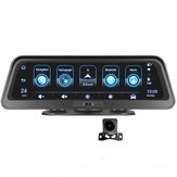android E98 10 Inch Car DVR 4G ADAS Dash Camera Rearview Mirror Camera GPS WiFi Parking Monitor Recorder