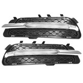 LED DRL Daytime Running Lights with Fog Lamp Cover For Mercedes Benz W212 E-Class E250 E300 E350 2009-2013