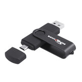 Bestrunner Type-C USB 2.0 32GB OTG Flash Drive U Disk 360 graden rotatie voor Type-C Smart Phone Tablet Laptop
