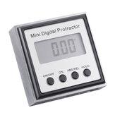 Drillpro roestvrij staal 360 graden mini digitale gradenboog inclinometer elektronische niveau vak magnetische basis meetinstrumenten