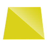 200x300mm Yellow PMMA Acrylic Transparent Sheet Acrylic Plate Perspex Gloss Board Cut Panel