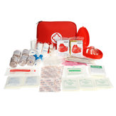 199Pcs Survival First Aid Kit Portable Outdoor Camping SOS Self-Defense Safety Emergency Tools Bag