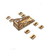 Universele houten motorhouderhouder voor 2208 2212 2216 motor RC-model