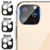 Metal + Tempered Glass Anti-scratch Phone Lens Protector for iPhone 11 / 11 Pro / 11 Pro Max