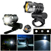 XANES®XL44 650LM T6 LED Zoomable Bike Headlight USB Charging Super Bright Bike Front Lightサイクリング警告灯