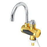 220V 3000W Temperature Display Instant Hot Water Faucet for Bathroom Kitchen