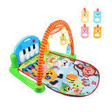 3 w 1 Rainforest Musical Lullaby Baby Activity Playmat Gym Toys Mat