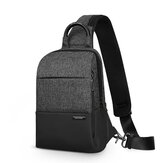 Mark Ryden Multifunction Sling Bag Men Bags Waterproof Crossbody Bag USB Charging Messengers Chest Bag Shoulder Bag Male Wear-resistant Business Stylish Outdoor High Capacity Oxford cloth