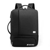 Xmund XD-DY35 35L USB Backpack 15.6inch Laptop Borsa Impermeabile Antifurto serratura Business School di viaggio Borsa
