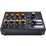 COKYIS MIX-428 8 Channels Stereo Audio Sound Mixer KTV Karaoke Mixer