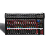 4000 Watts 16 Channel Professional USB Audio Mixer Console Power Mixing Amplifier Amp